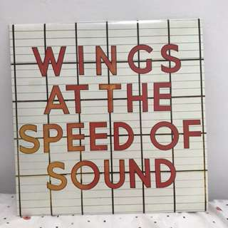 Wings - At the Speed of Sound vinyl record