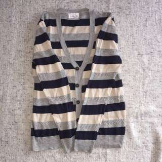 La Magie Striped Cardigan