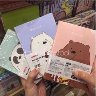 We Bare Bears Notebooks
