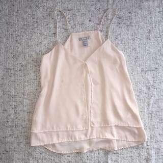 H&M Pink Flowy Top