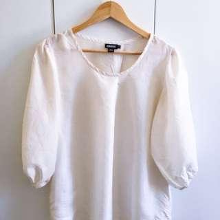 DKNY silk blouse