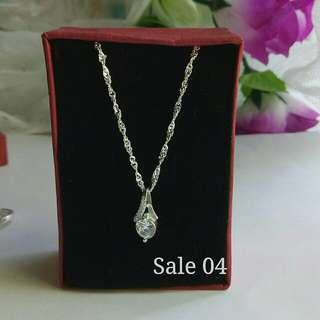 925 Italy silver nrcklace