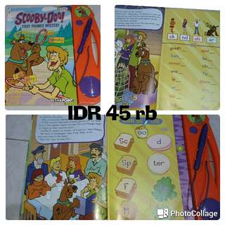 Activition Book Scooby Doo