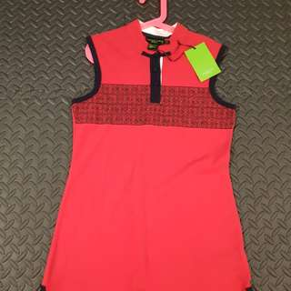 BNWT Shanghai Tang dress red girls size 10