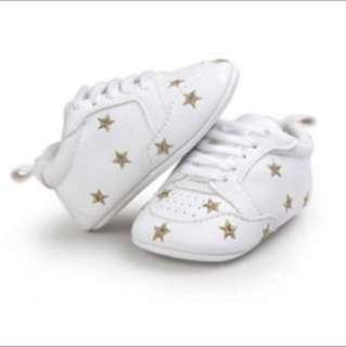 Baby Shoes Star Gold