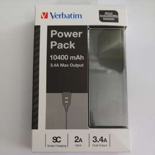 Verbatim Power Pack 10400 mAh 3.A Max Output