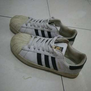 Adidas superstar white premium
