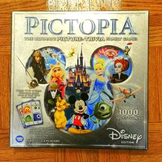 Disney Pictopia Trivia Boardgame
