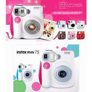 Fujifilm Instax Mini 7s Polaroid Camera (BNIB)