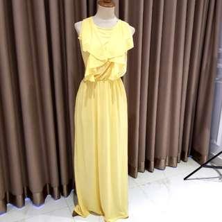 Maxi Dress kuning