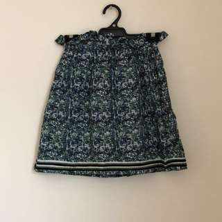 BNWOT Tigerlily flower print miniskirt