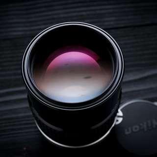 Nikon 135mm f2.8 AI manual focus lens