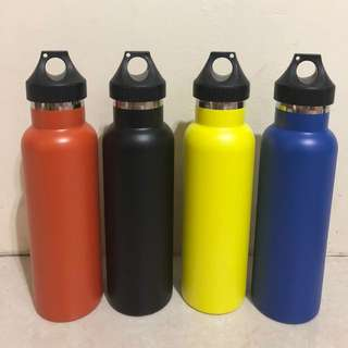 Double-wall Insulated Tumblers (works like Klean Kanteen)