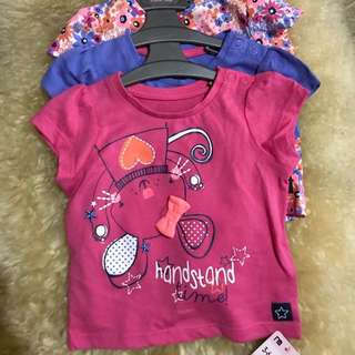 MOTHERCARE TOPS 3in1 NWT