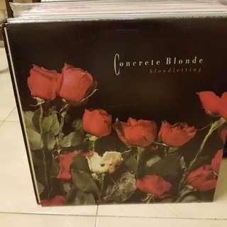 Concrete Blonde Bloodletting Red Vinyl LP Original Pressing Rare