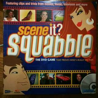 Scene It? Squabble Board Game
