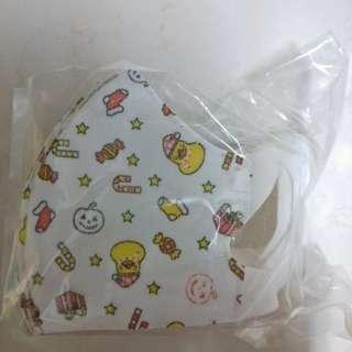 兒童立體卡通口罩(聖誕小鴨)