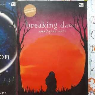 Buku bekas - Twilight Saga (4 buku)
