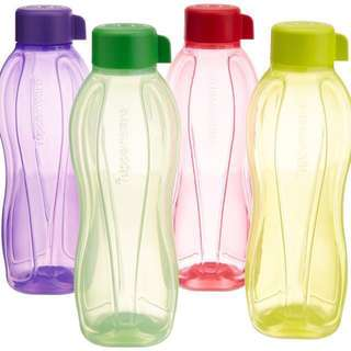 Tupperware 1 Litre Green water bottle