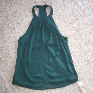 H&M Emerald Top