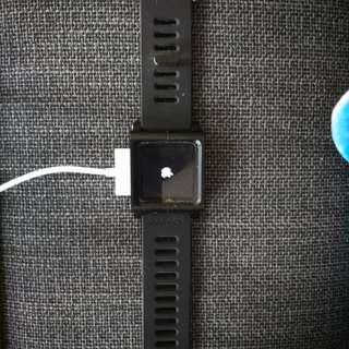 Apple iPod 16GB 6th Gen w watch strap #GADGET100