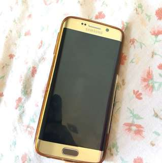 Samsung S6 edge gold