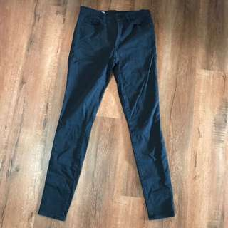 Gap Super Skinny Black Jeans 27 10