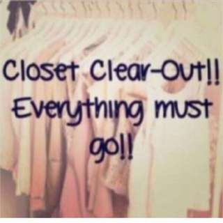 Closet clean out! Sheike, lululemon, seafolly and other items