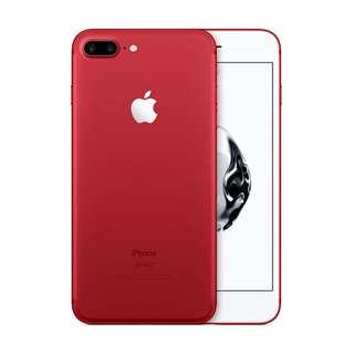 Kredit/cash Apple iPhone 7 Plus 128 GB Smartphone - Red - Cicilan tanpa kartu kredit