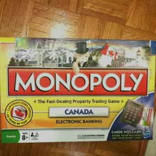 Monopoly Canada Edition Board Game