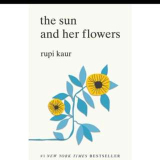 The sun and her flowers Rupi Kaur (PREORDER)