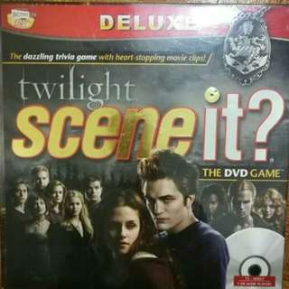 BRAND NEW! Twilight Scene It? Board Game