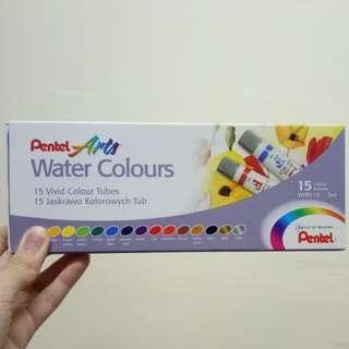 Pentel Arts Water Colours
