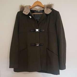 Forever New Khaki Coat
