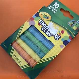 Crayola modelling clay sticks