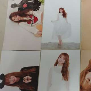 kim sohee official photo fillette limited edition