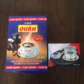 產地直送手作越南咖啡(500克裝)