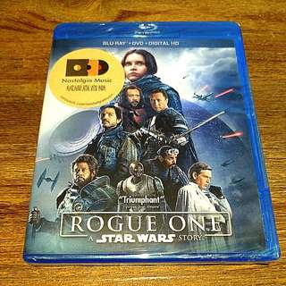 NEW BLURAY: Rogue One: A Star Wars Story (DVD + Blu-ray + Digital)
