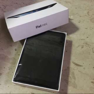 Ipad mini 1 (wifi) black 16gb