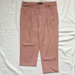 Pink Highwaist Trousers