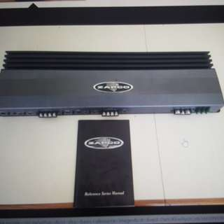 Zapco reference 1000.4 4 channels amplifier