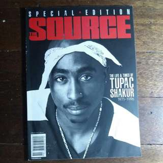 Tupac Shakur | The Source Magazine