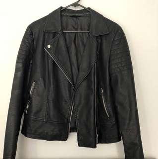 Jay jays faux leather jacket size 10