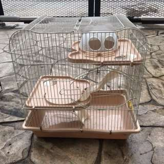 2 hamster Cages n accessories