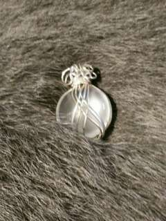 手工藝品-水沫玉項鍊頭