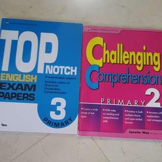 P2 P3 English Assessment Books