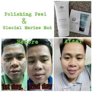 FANTASTIC COMBO (Polishing Peel + Glacial Marine Mud Mask)