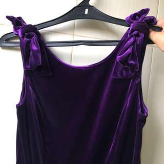Velvet Dress Uk.12