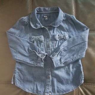 Baby Gap Jeans Top