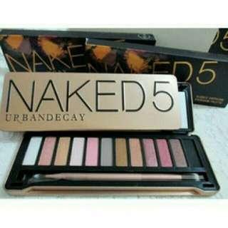 Naked 5 Palette